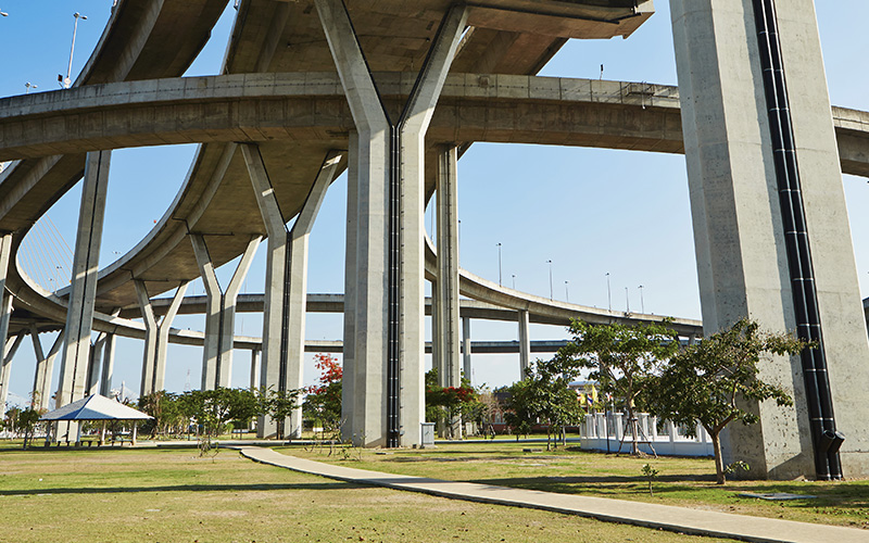 Overpasses at day